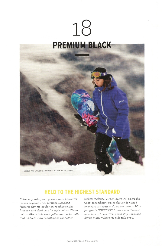 Roxy Premium Black